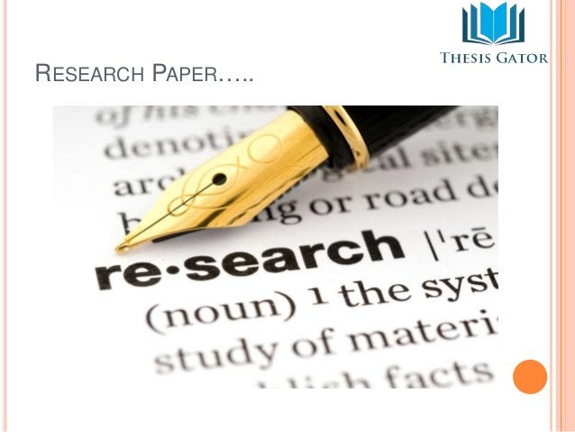 RESEARCH PAPER…..