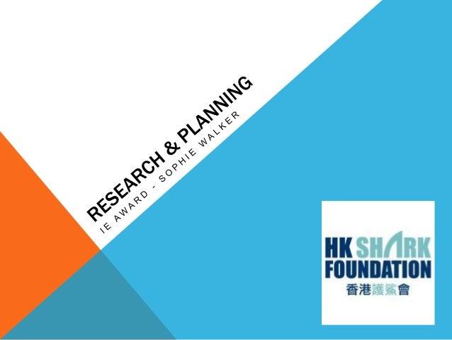DESCRIPTION, AIMS & GOALSOur description and main objective:We plan to raise shark awareness in Island School Hong Kong.Th...