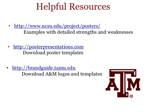 Research posters for Posterpresentations com templates