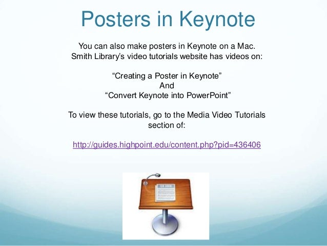 poster templates for mac