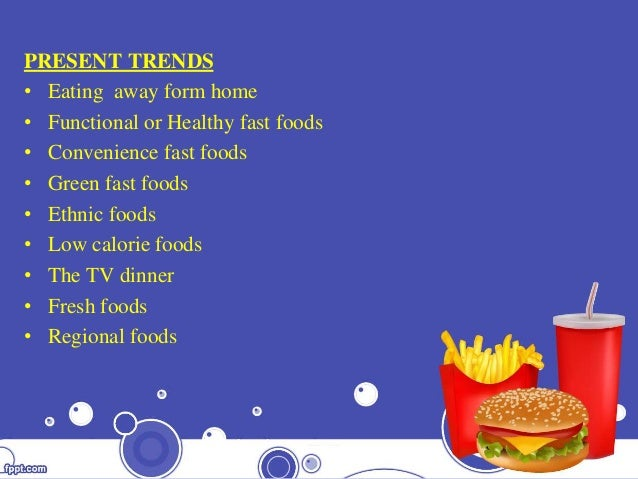 WELL KNOWN U.S FAST FOOD BRANDS IN INDIA IMPACT ON INDIAN ...