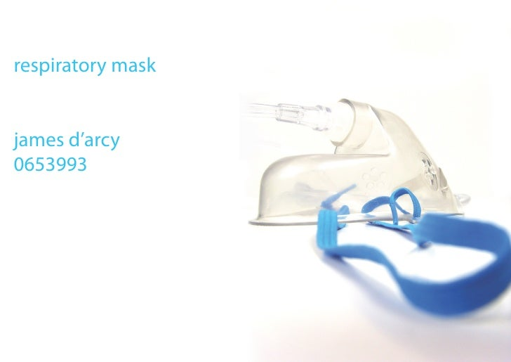 respiratory mask   james d'arcy 0653993