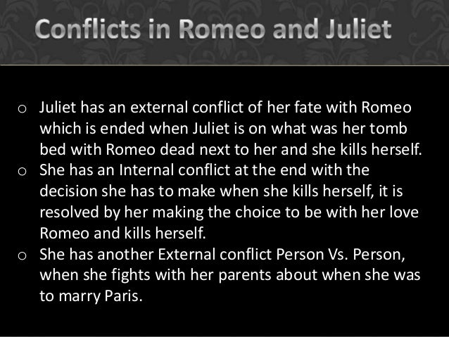 romeo and juliet conflict essay plan