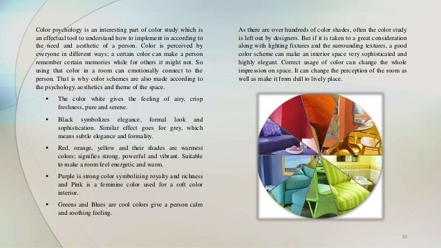 Elements of interior design - Interior design psychology degree ...