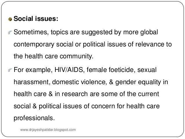 gender issues topics for research paper