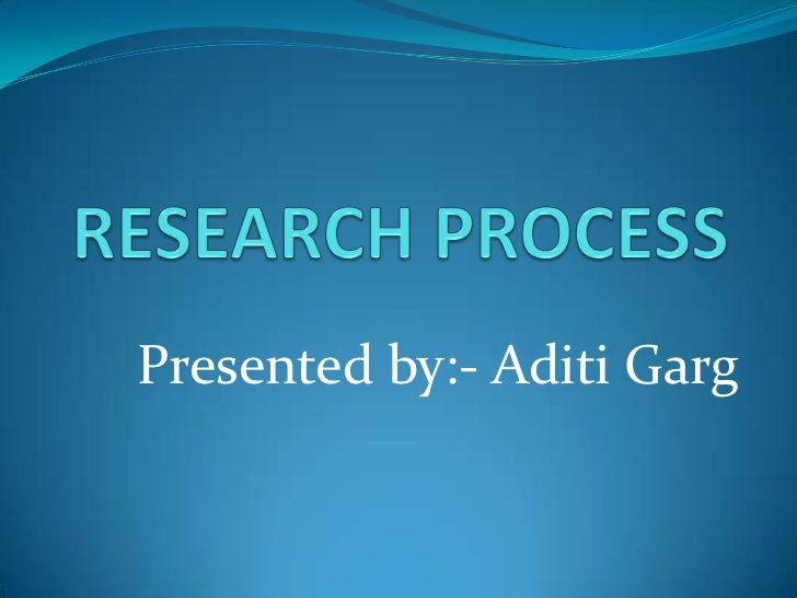 methodology of operation research