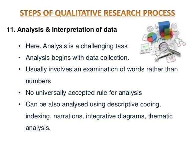 Research process  quantitative and qualitative