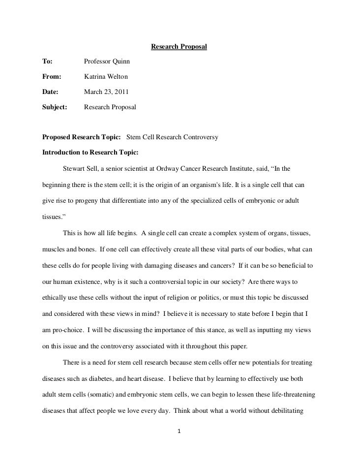 Research Proposal<br />To:Professor Quinn<br />From:Katrina Welton<br />Date:March 23, 2011<br />Subject:Research Proposal...