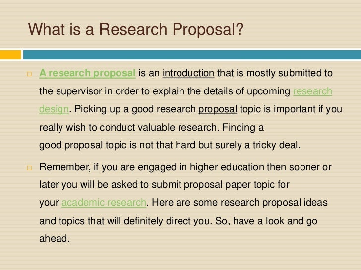 Research Proposal Guidelines To Make You Research Paper Effective