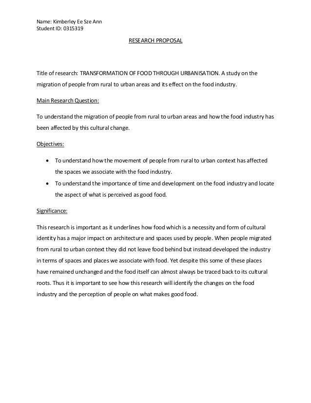 Project1 Research Proposal