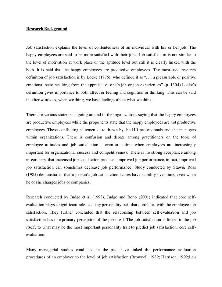 thesis in position satisfaction regarding traditional bank employees