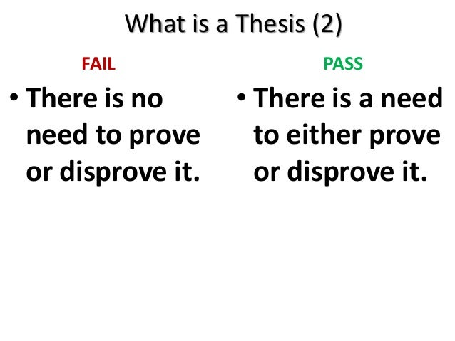 good 3 part thesis Sat essay, part 3: three tips for a strong thesis 0  we think a good thesis simply and clearly states the point you are going to defend in your essay.