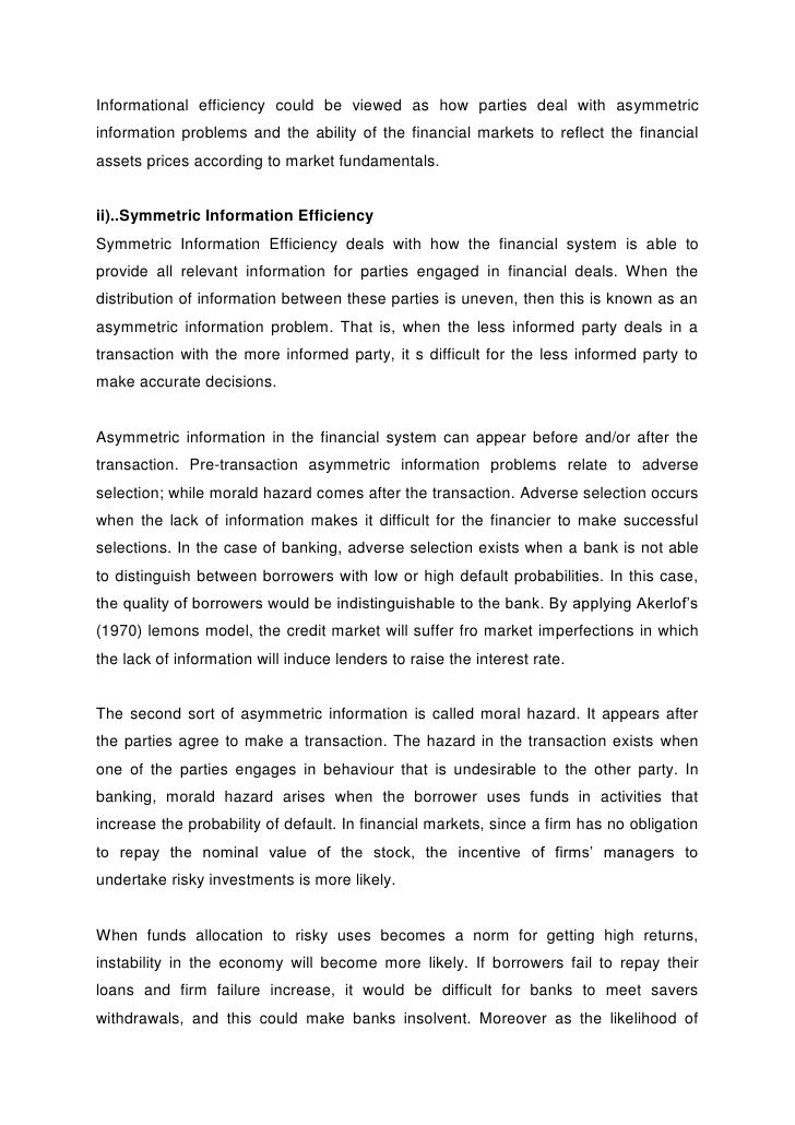 dissertation proposal sample finance