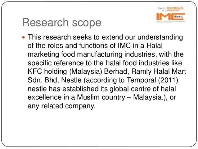 Research proposal on nestle and haleeb | Term paper Sample