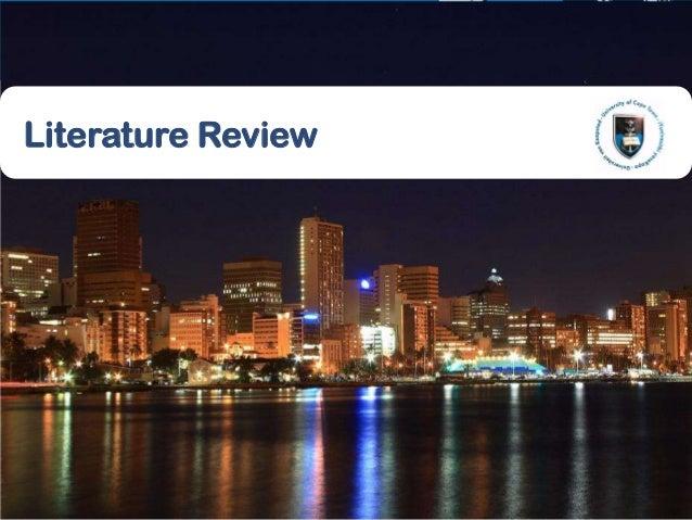 713 June 2013Literature Review