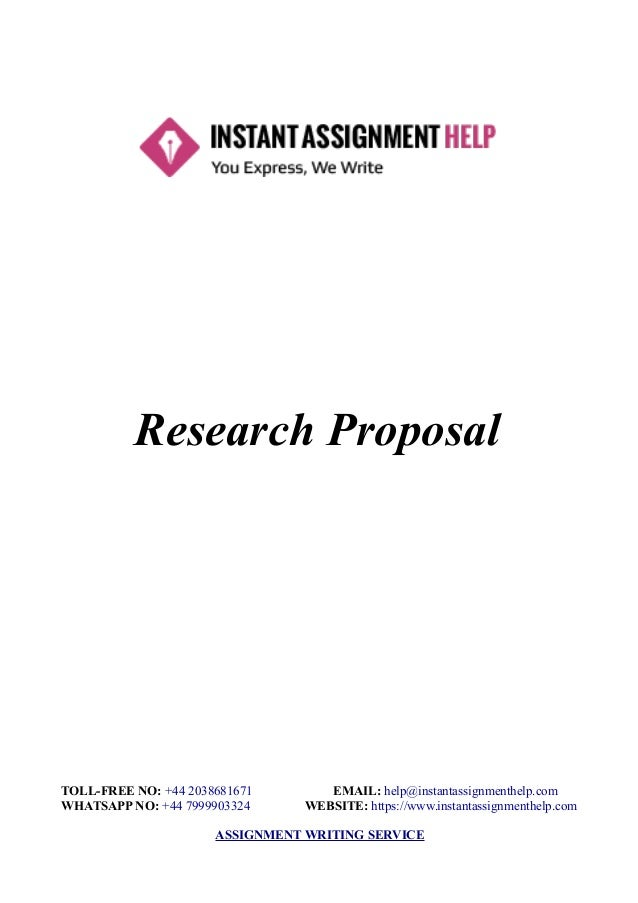 We supply research proposals of 1500-2000 words length embracing: