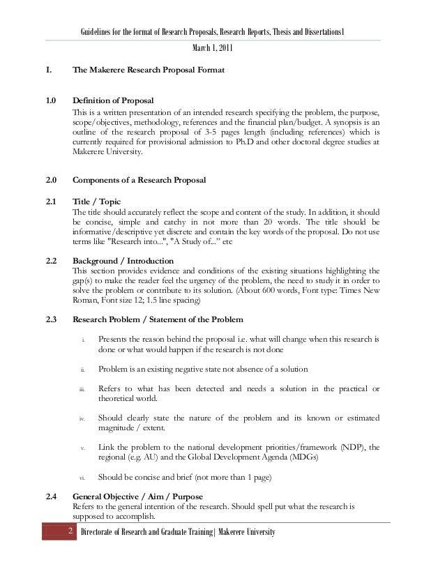 Phd dissertation example
