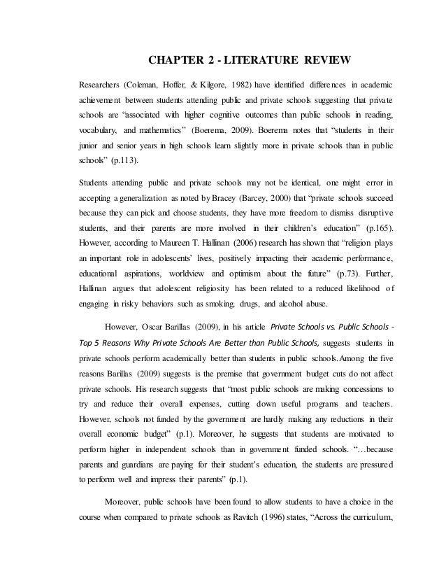 public schools research paper