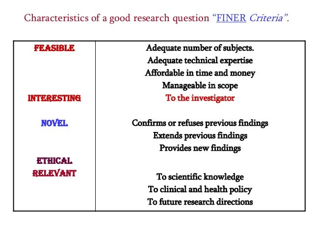 character of good research Characteristics of good supervision: a multi-perspective qualitative  on a  supervisor-identified research question and aspire to harmonize.