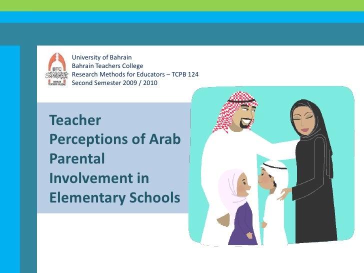University of Bahrain<br />Bahrain Teachers College<br />Research Methods for Educators – TCPB 124<br />Second Semester 20...