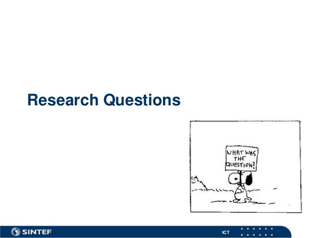 ICT Research Questions