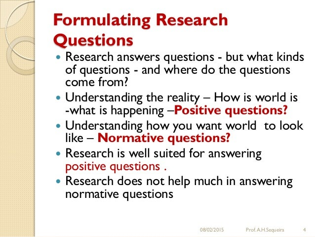 Good research questions dissertations
