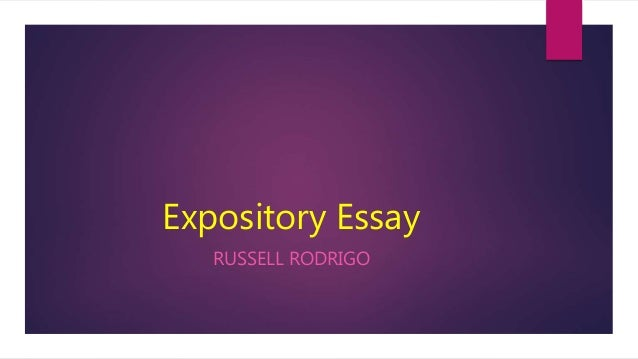 expository essay introduction  thesis statement