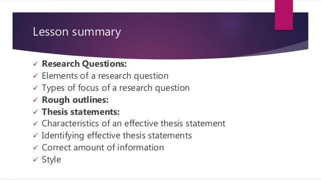 What Are the Different Types of Thesis Statements?