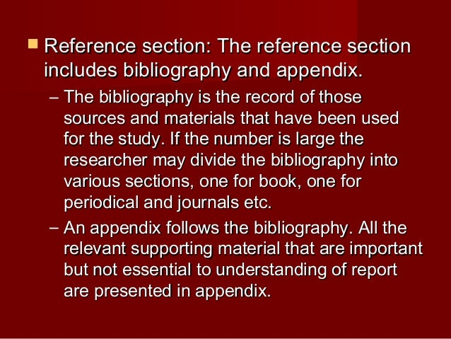 appendix section of a research paper This paper should be used only as an example of a research paper rules you will see in this sample paper which you is provided in appendix a.