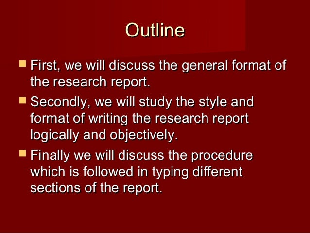 Do my research report