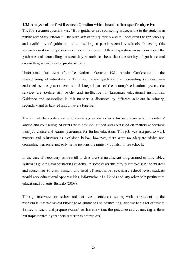 Research report of hashimu mapengo 2013