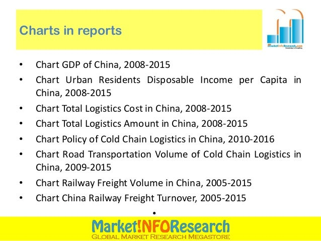 china cold chain logistics industry report The market demand for food cold chain is on a steady rise in the wake of rapid development of china's economy, the accelerated process of urbanization as well as the changes in the structure of residents' food consumption.