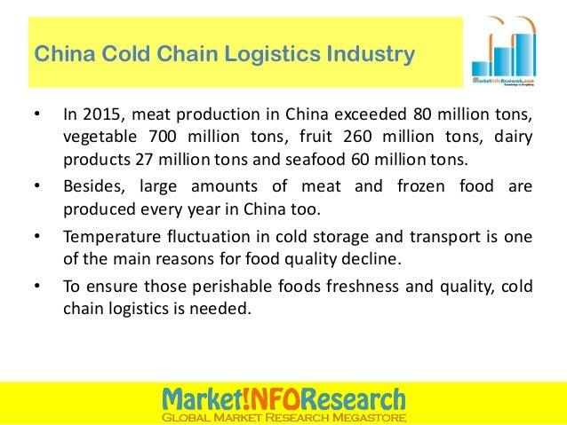 Fresh Food Logistics Chain