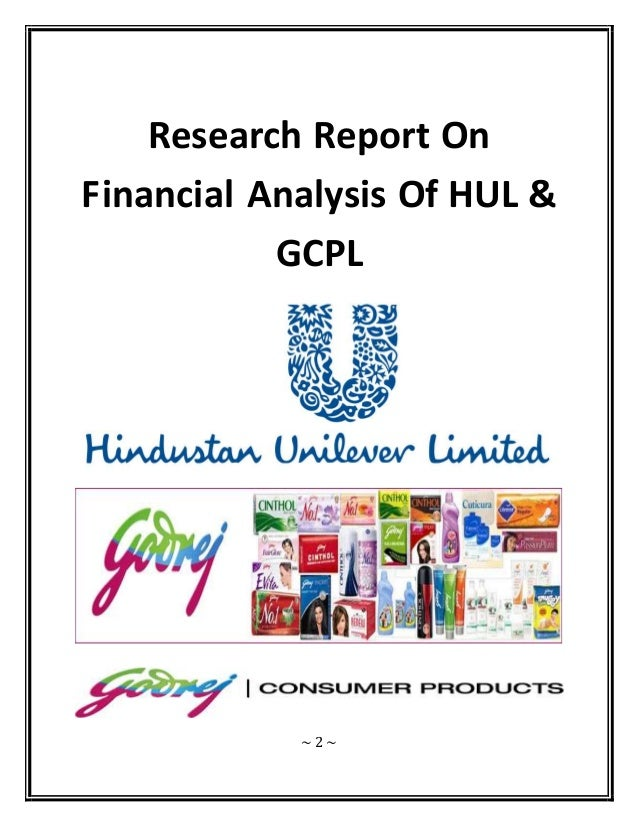 financial analysis oh hul Accounting for management project on financial statement analysis of hindustan unilever limited (hul) submitted to: dr rosy kalra table of contents.