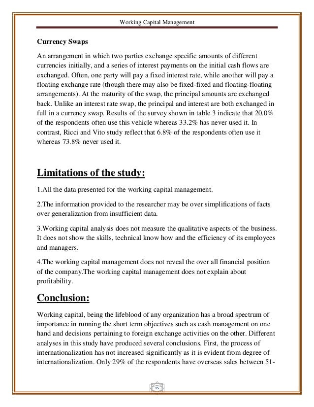 phd thesis working capital management Financial management and profitability of small this thesis examines the relationship between financial management and working capital management and.