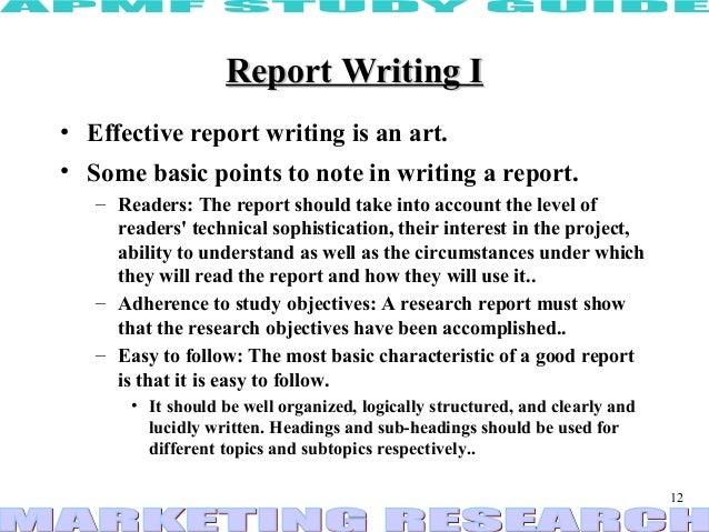 Effective report writing christina niethammer dissertation