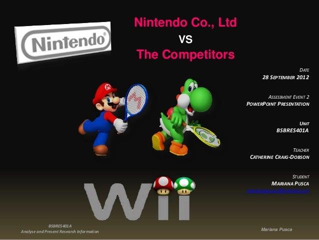 Nintendo Co., Ltd                                                  VS                                           The Compet...