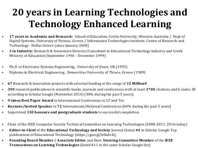 technology research papers in education Sample education essays  research introduction education is one of social institution that makes society and  due to advancement of computer technology,.