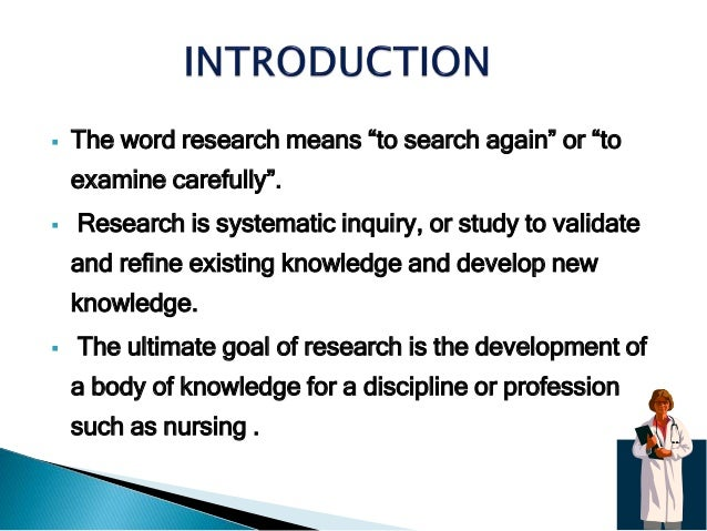 historical development in nursing research and Free college essay historical development in nursing research and utilization collaborative practice paper this paper will be addressing a clinical case study from the writer&aposs current experience that illustrates collaborative.