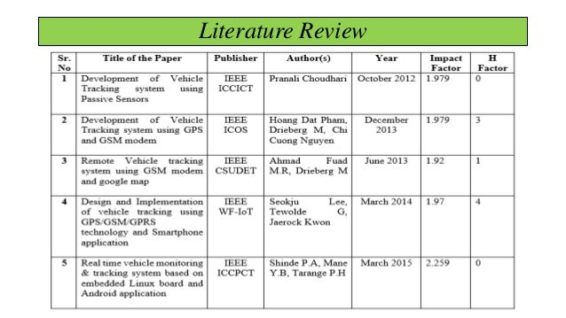 Related literature studies of attendance monitoring system