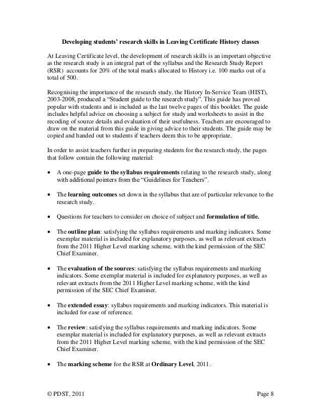 history essay example introduction