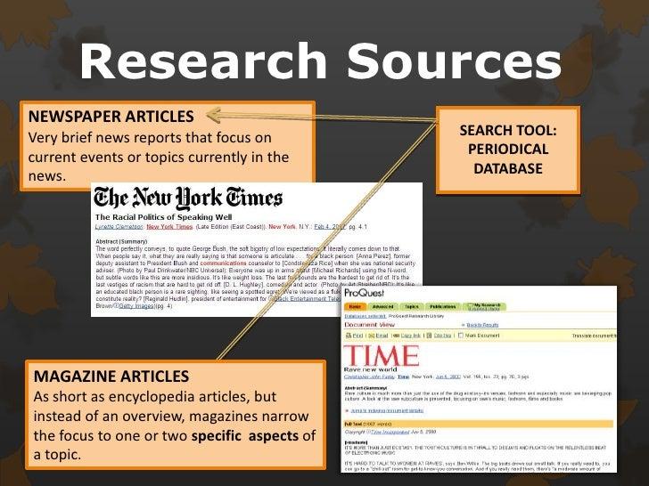 Periodical Databases