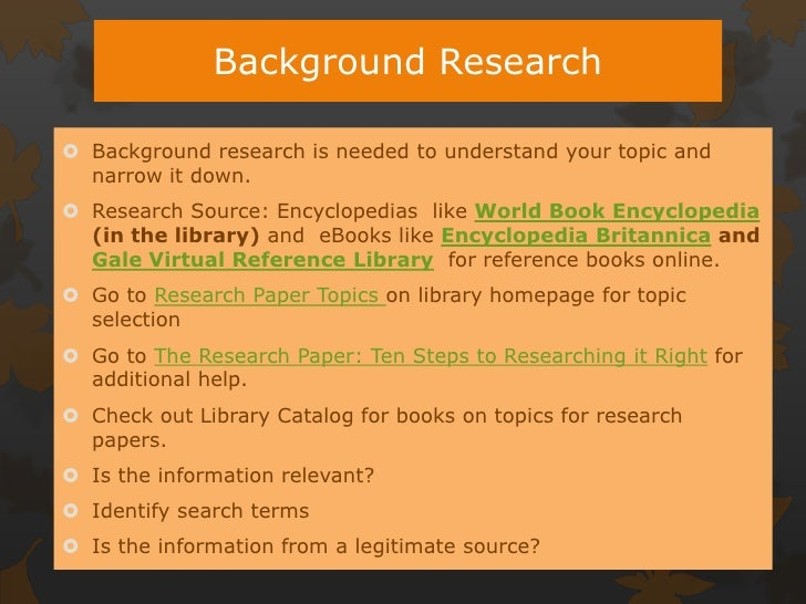 referencing sources research papers