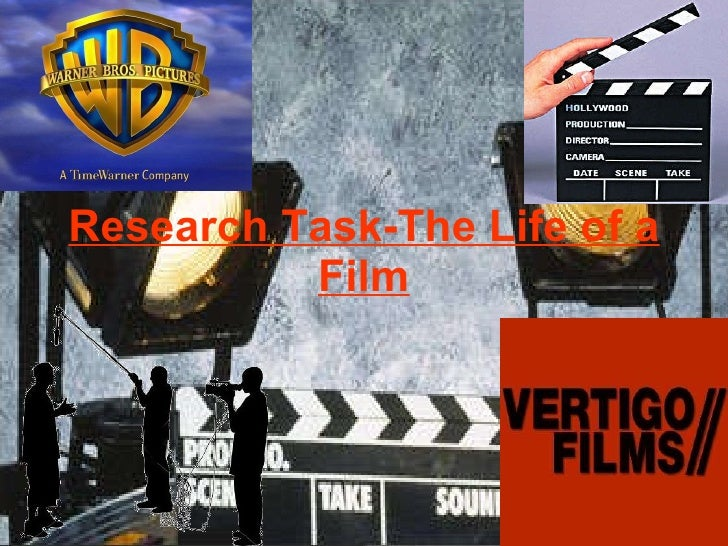Research Task-The Life of a Film