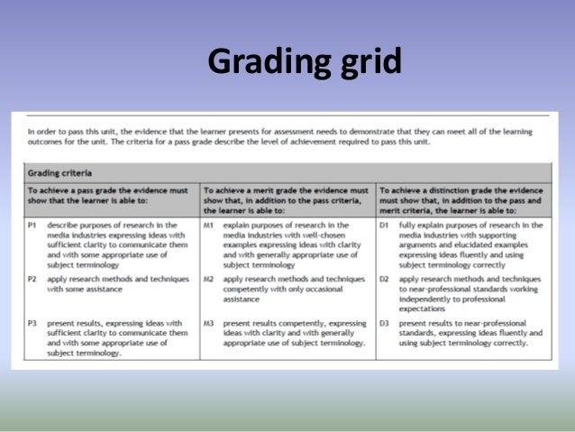 Grading grid