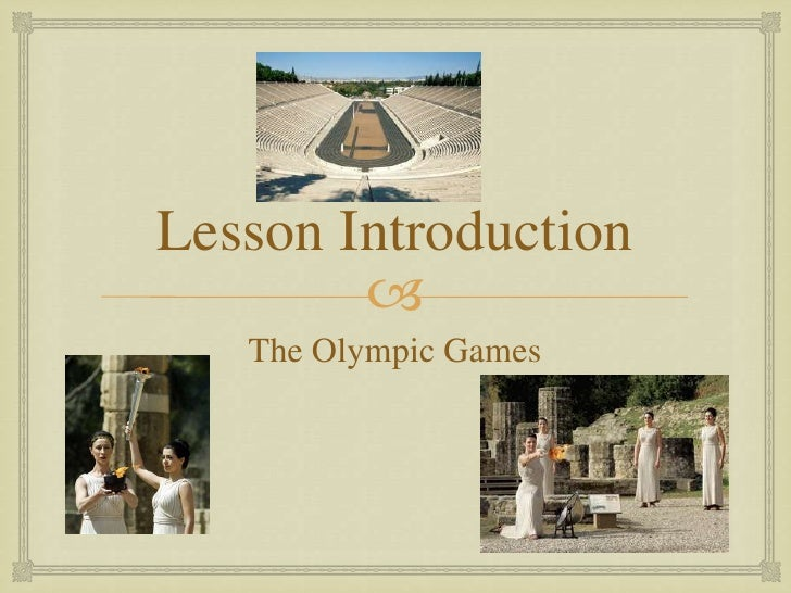olympic games and term papers The centre's online olympic games bibliography contains approximately 1,800 entries of major research publications architectural and urban technology research nucleus of the university of são paulo and gama filho university, rio de janeiro, brazil, this website shares selected working papers, articles, and essays.