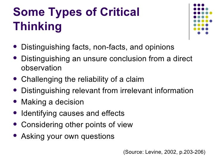 critical thinking and writing reclaiming the essay Writing a critical essay doesn't necessarily mean you need to criticize something it's rather your feedback on an article/book you have read or a movie you have putting it differently, the essay is not a highlighting criticism, but rather emphasizing critical thinking and critical analysis in the paper.