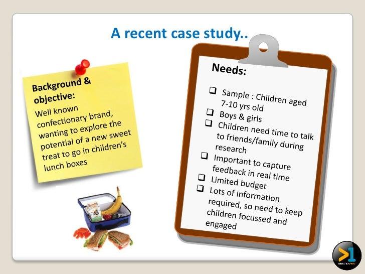 A recent case study..