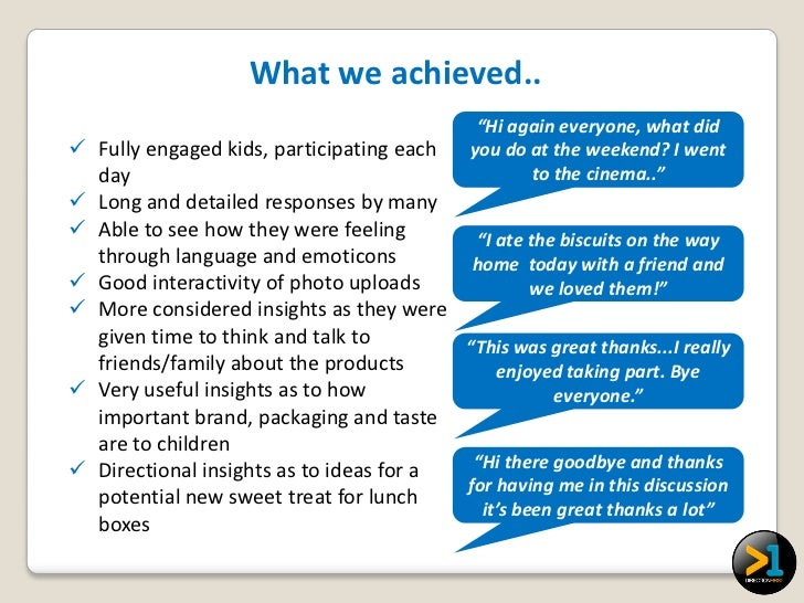 """What we achieved..                                             """"Hi again everyone, what did Fully engaged kids, participa..."""