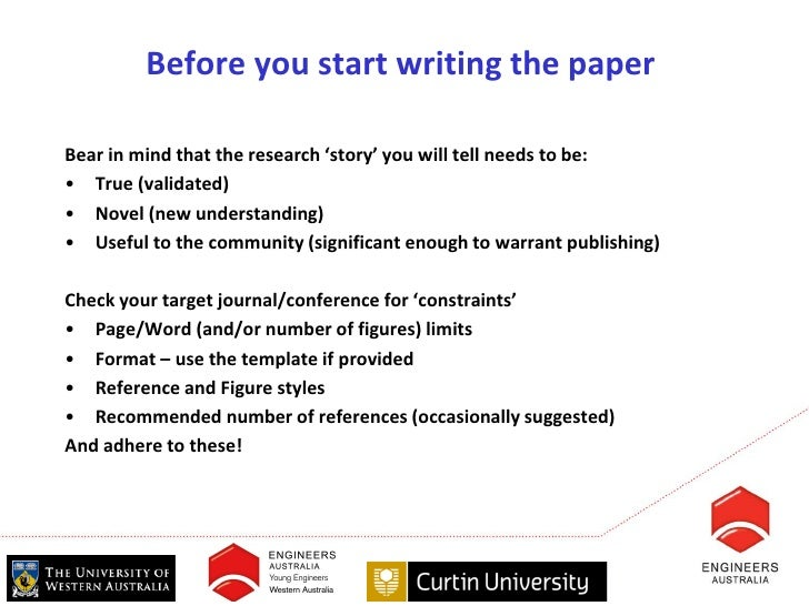 how to write a research paper by prof a tony d lucey curtin unive  how to write a research paper by prof a tony d lucey curtin university and engineers